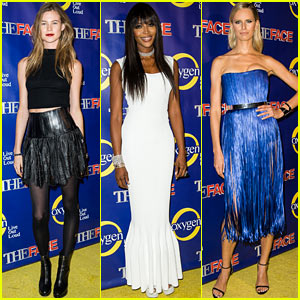 Behati Prinsloo & Naomi Campbell: 'The Face' Premiere!