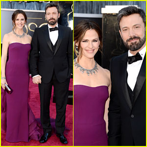 Ben Affleck &amp; Jennifer Garner - Oscars 2013 Red Carpet