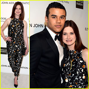 Bonnie Wright & Jacob Artist - Elton John Oscars Party 2013