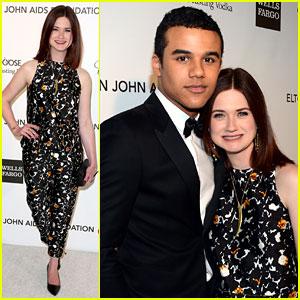 Bonnie Wright & Jacob Artist - Elton John Oscars Party 2013