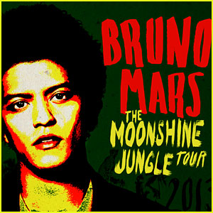 Bruno Mars: Moonshine Jungle Tour with Ellie Goulding!