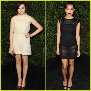 Chloe Moretz & Zoe Kravitz: Chanel Pre-Oscars Dinner 2013