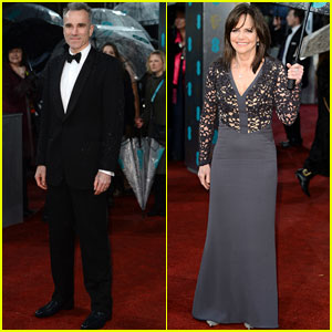 Daniel Day-Lewis & Sally Field - BAFTAs 2013 Red Carpet