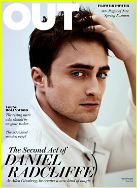 Daniel Radcliffe Covers 'Out' Magazine March 2013