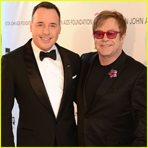 Elton John & David Furnish - Elton John Oscars Party 2013