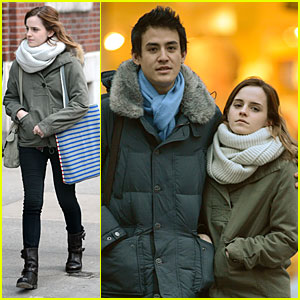 Emma Watson & Will Adamowicz: Romantic Stroll After Valentine's Day!