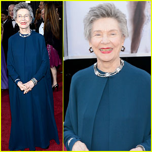 Emmanuelle Riva - Oscars 2013 Red Carpet