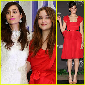 Emmy Rossum: 'Beautiful Creatures' Mexico City Premiere & Photo Call!