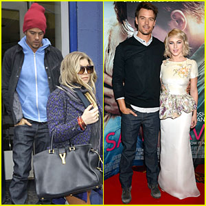 Fergie & Josh Duhamel: Pizza Date in London!