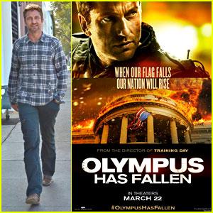 Gerard Butler New Olympus Has Fallen Poster