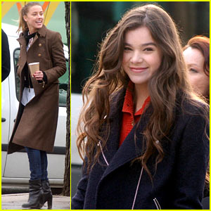 Hailee Steinfeld & Amber Heard: 'Three Days to Kill' Set!