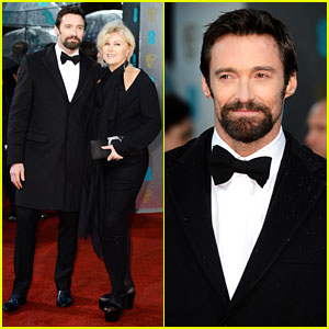 Hugh Jackman - BAFTAs 2013 Red Carpet