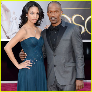 Jamie Foxx - Oscars 2013 Red Carpet