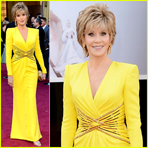 Jane Fonda - Oscars 2013 Red Carpet