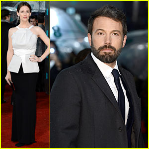 Jennifer Garner & Ben Affleck - BAFTAs 2013 Red Carpet