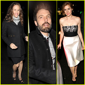 Jennifer Garner & Ben Affleck: Pre-BAFTA Dinner Duo!