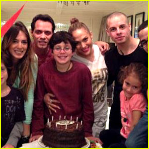 Jennifer Lopez &#038; Marc Anthony: Birthday Party with Casper Smart!