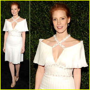 Jessica Chastain - Chanel Pre-Oscars Dinner 2013
