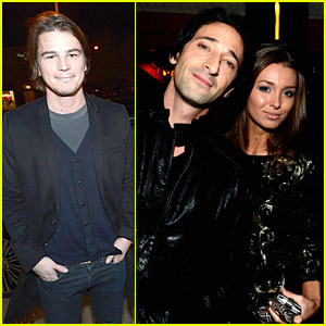 Josh Hartnett & Adrien Brody: Vanity Fair Pre-Oscars Party!