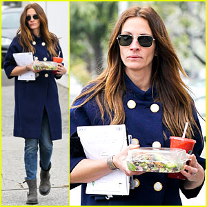 Julia Roberts: Healthy Salad Diet!