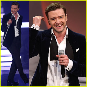 Justin Timberlake Performs 'Mirrors' Live on 'Wetten dass