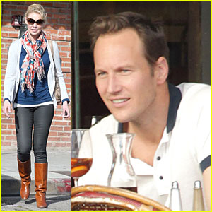 Katherine Heigl & Patrick Wilson: Figaro Cafe Lunch!