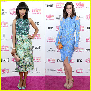 Kerry Washington &#038; Mary Elizabeth Winstead - Independent Spirit Awards 2013