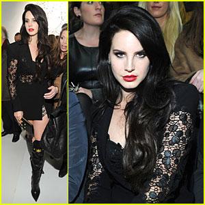 Lana Del Rey & Janet Jackson: Versace Fashion Show!