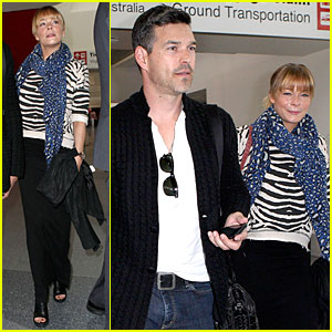 LeAnn Rimes & Eddie Cibrian: Washington DC Flying Couple!