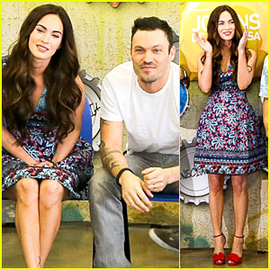 Megan Fox & Brian Austin Green: Brazilian Dance Spectators!