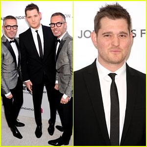 Michael Buble - Elton John Oscars Party 2013