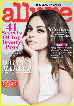 Mila Kunis Covers 'Allure' Magazine March 2013