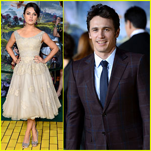 Mila Kunis & James Franco: 'Oz The Great & Powerful' Premiere!