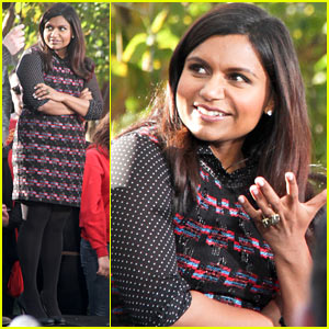 Mindy Kaling: 'Mindy Project' Promotion!