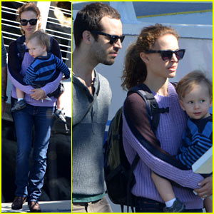 Natalie Portman &#038; Benjamin Millepied: Whale Watching with Aleph!