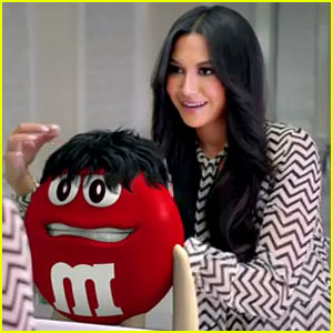 Naya Rivera: M&M's Super Bowl Commercial - Watch Now!