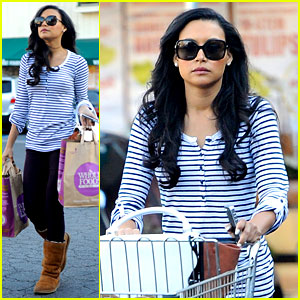 Naya Rivera Steps Out After Huge Santana 'Glee' Moment!