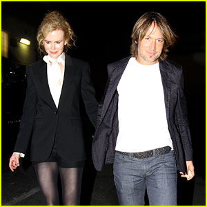Nicole Kidman &#038; Keith Urban: Valentine's Day Dinner Date!