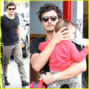 Orlando Bloom: Son of a Gun with Flynn!