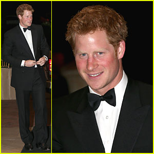 Prince Harry: Sentebale Gala Dinner!