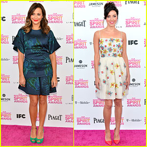 Rashida Jones & Aubrey Plaza - Independent Spirit Awards 2013