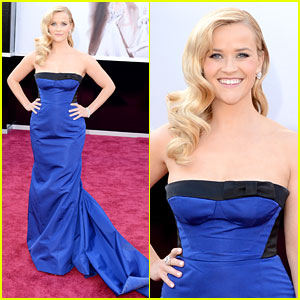 Reese Witherspoon - Oscars 2013 Red Carpet