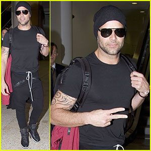 Ricky Martin: 'The Voice Australia' Landing!