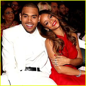 Brown Dress on Brown     Grammys 2013 Seatmates   Pics    2013 Grammys  Chris Brown