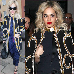 Rita Ora Covers Mumford & Sons'