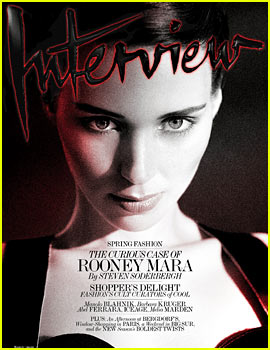Rooney Mara Covers 'Interview' Magazine March 2013