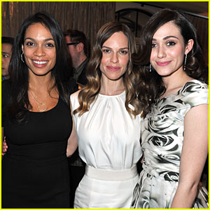 Hilary Swank & Emmy Rossum: Montblanc & UNICEF Brunch!
