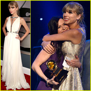Taylor Swift - Grammys 2013 Red Carpet