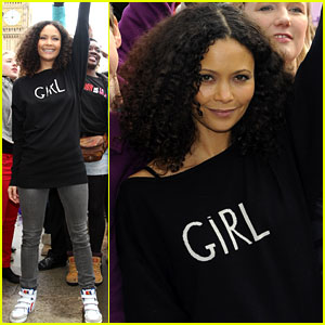 Thandie Newton: One Billion Rising Flash Mob in London!