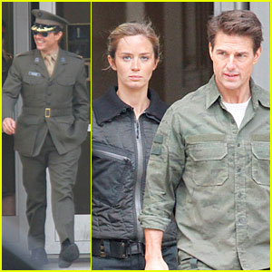 Tom Cruise: 'All You Need Is Kill' Set with Emily Blunt!